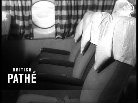The New Soviet Passenger Plane Il 18  (1958)