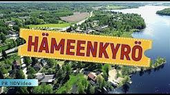 Hämeenkyrö. Finland 4K ilmakuvaus