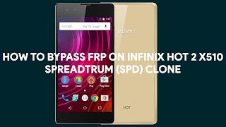 Infinix X510 hard reset and bypass frp lock google account.