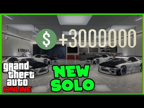 *NEW* GTA 5 ONLINE SOLO MONEY GLITCH To Make You RICH - *All Consoles* (Unlimited Money EASY)