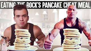 Bodybuilder Tries the Rock's EPIC Cheat Meal *4,000 CALORIES* Food Challenge GONE WRONG