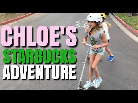 Chloe's Starbucks Adventure