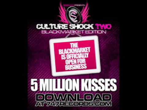 LOMATICC  5 MiLLiON KiSSES Culture Shock 2 Black Market !!!BRAND NEW SINGLE!!!!