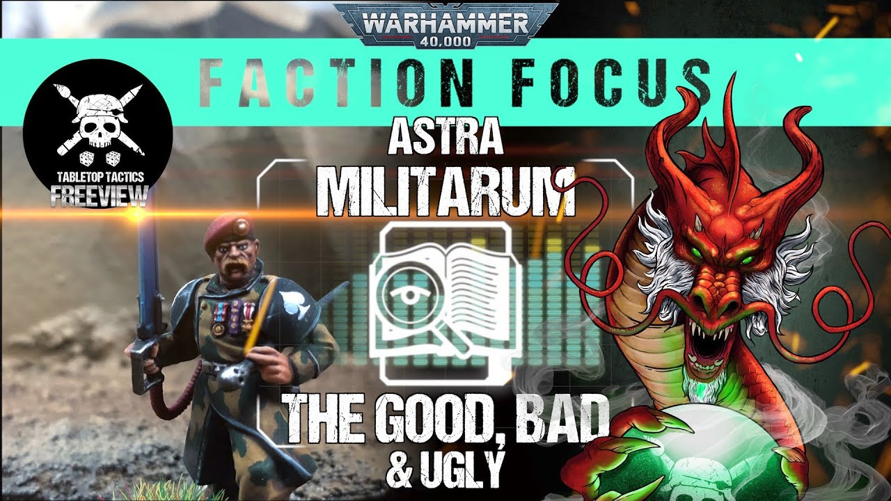 Warhammer 40,000 Faction Focus: Astra Militarum