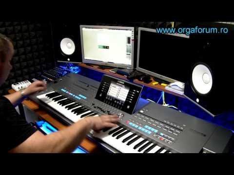 Yamaha Tyros 5 demo sound professional