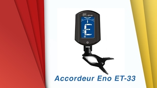Video Accordeur guitare Eno ET-33 - déballage et test download MP3, 3GP, MP4, WEBM, AVI, FLV Oktober 2018