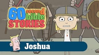 Joshua and the Battle of Jericho | 60 Second Bible Stories | Ep6