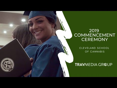 Cleveland School Of Cannabis 2019 Commencement | Trav Media Group | Cannabis Marketing Agency