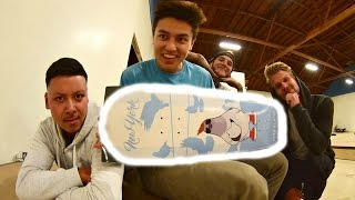 Skateboard Setup at the BrailleHouse!