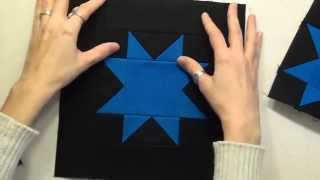 46. How to Piece a Sawtooth Star Quilt Block