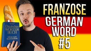 Learn German A.1 🇩🇪 Word Of The Day: der Franzose | Episode 05 | Get Germanized