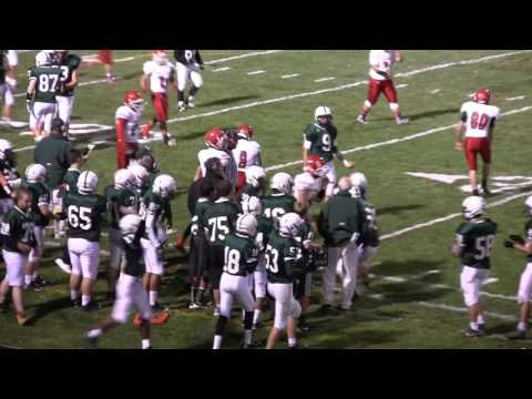 NH Sports Page Football Dover vs Spaulding Highlights 10-2-15