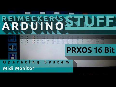Prxos // Midi Monitor // Read SysEx (Arduino)