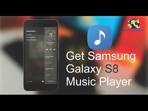 How To Get Samsung Galaxy S8 MP3 Music Player