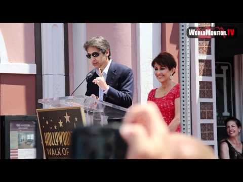 Ray Romano speech at Patricia Heaton Hollywood walk of fame Ceremony