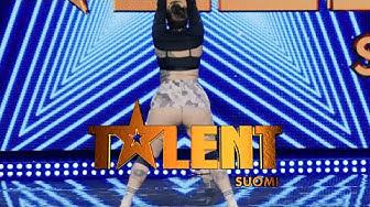 """Alexandra """"Ässä"""" tuli antamaan puheenaihetta!   Talent Suomi   MTV3"""