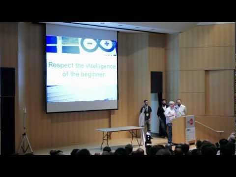 Arduino @ Open Source Hardware Summit 2011