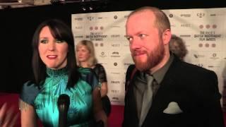 Sightseers - Alice Lowe, Steve Oram & Eileen Davies - BIFA Arrival Interviews