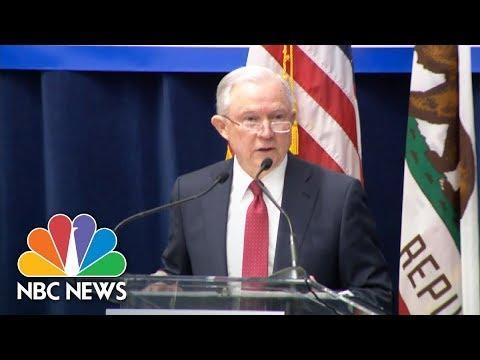 Jeff Sessions: DOJ 'Has Filed A Suit' Against California Over Immigration Enforcement | NBC News