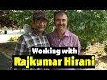 Working with Rajkumar Raju Hirani in Sanju: Rajiv Nema Indori Chronicles
