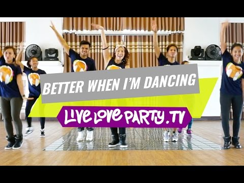 Better When I'm Dancing by Meghan Trainor | Zumba® | Live Love Party