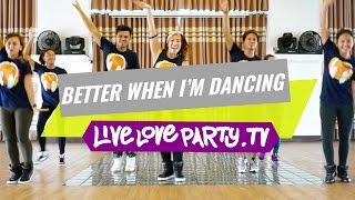 Better When I 39 m Dancing by Meghan Trainor Zumba Live Love Party