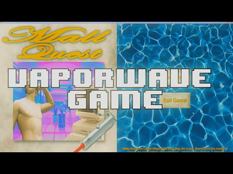 MALL QUEST the worlds first VAPORWAVE GAME