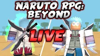 I GOT THE HAWK SUMMONING in Naruto RPG: Beyond!! | Roblox Live Stream #115
