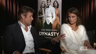 "Interview with Grant Show and Nathalie Kelley of ""Dynasty"""