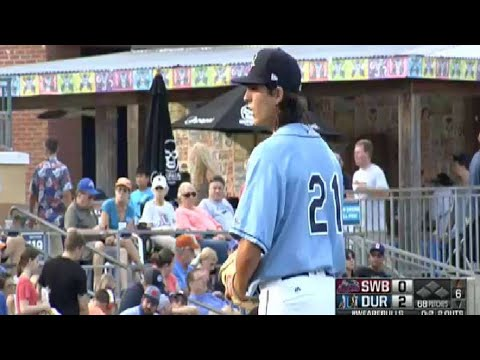 Bulls' Honeywell finishes outing with strikeout