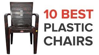 10 Best Plastic Chairs in India with Price thumbnail