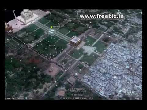 Tajmahal Satellite View Google Map View Of Thaj MahalTaj Mahal - Google 3d satellite map