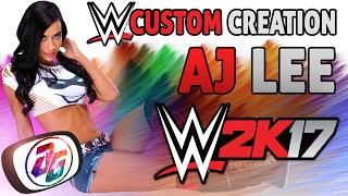 WWE 2K17 Özel Oluşturma #1 ''J Lee'' (Özel LOGO veya MOD-PC olmadan) ui