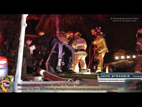 Moreno Valley: Multiple Vehicle Involved Fatal Traffic Collision