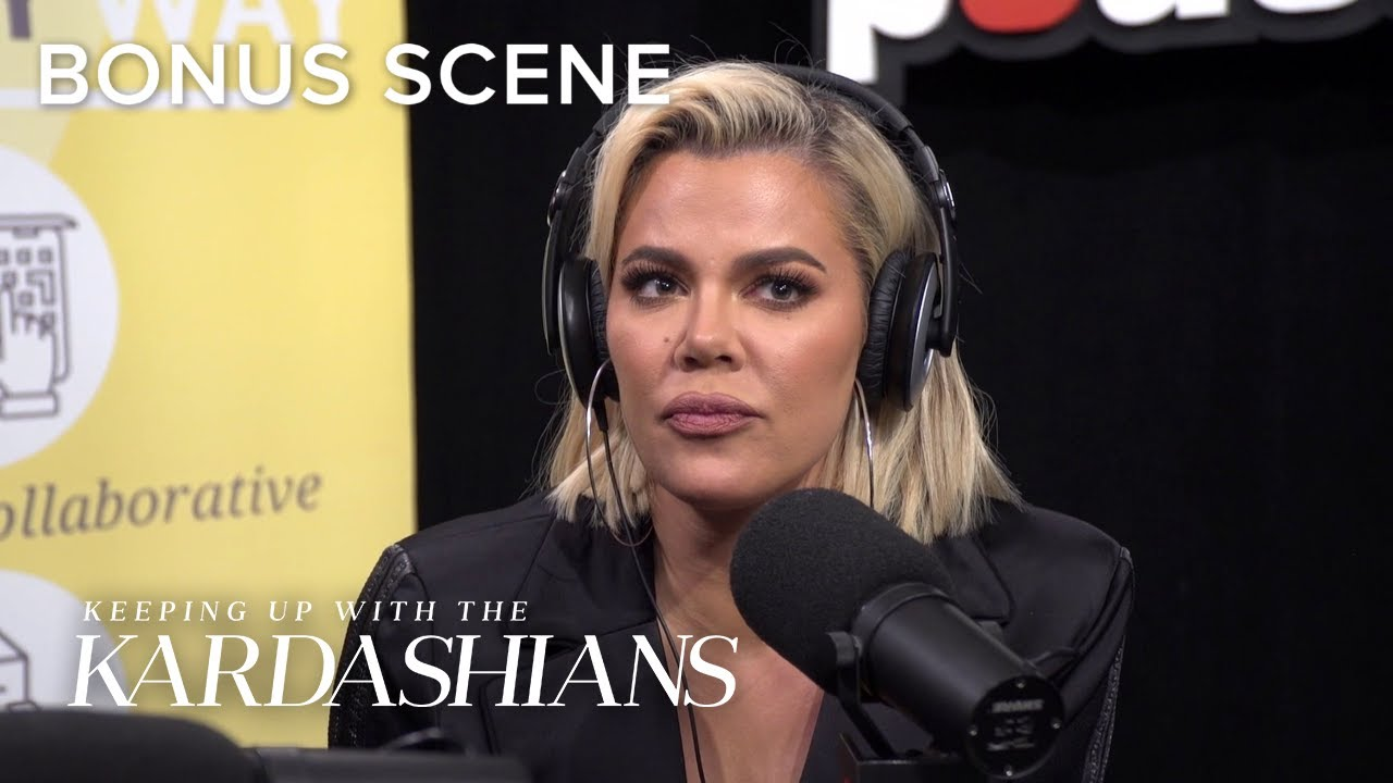 Khloé Kardashian Is Committed to Co-Parenting True With Tristan | KUWTK Bonus Scene | E!