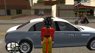Gta Mod Goku SSJ3 SSJ4