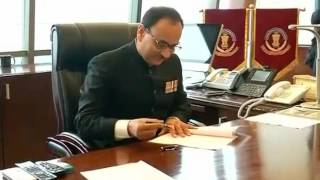 Former Delhi Police Commissioner Alok Verma takes charge as new CBI chief