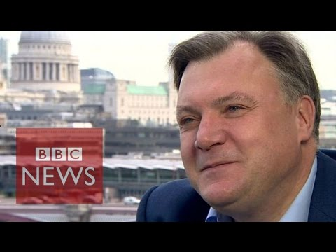 Ed Balls 'not dashing back to politics' - BBC News
