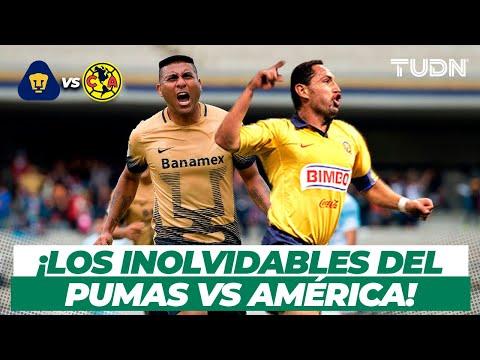 PREVIA: ¡Los goles INOLVIDABLES del Pumas vs América! | Clásico capitalino | TUDN