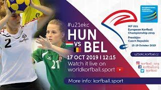 IKF U21 EKC 2019 HUN - BEL