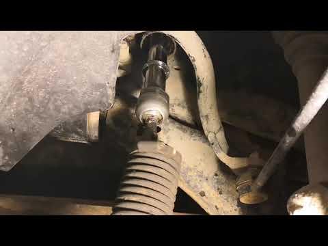 проверка и замена рулевой тяги мондео 4