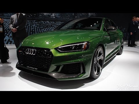 2019 Audi RS5 Sportback Close-Up Look!
