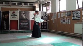 zengo no ido hasso gaeshi uchi [TUTORIAL] Aikido advanced weapon technique