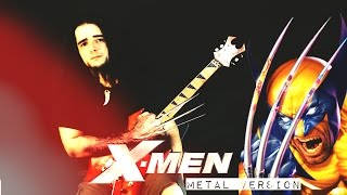 X MEN Theme Opening - Metal Version
