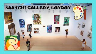 LONDON: SAATCHI ART GALLERY, WHAT TO SEE, latest collections & exhibits