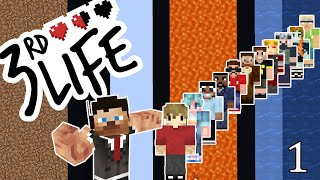 3rd Life: Episode 1 - MINECRAFT SMP DONE...DIFFERENTLY!