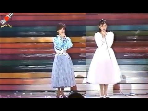 '南野陽子'と友達 '岡田有希子' ( Yoko Minamino with Okada Yukiko)