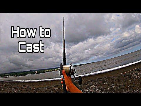 How To CAST A ULUA POLE/ulua Fishing/fishing In Hawaii