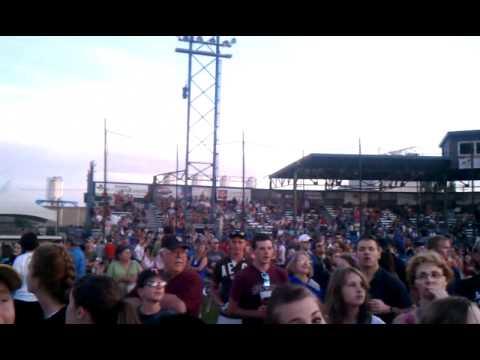 Crowd at Downpour festival great falls MT 2011