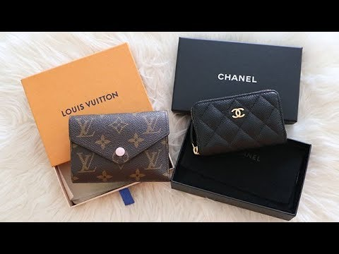 99cb11eea454 PERFECT SMALL COMPACT WALLET || LOUIS VUITTON or CHANEL ? - YouTube